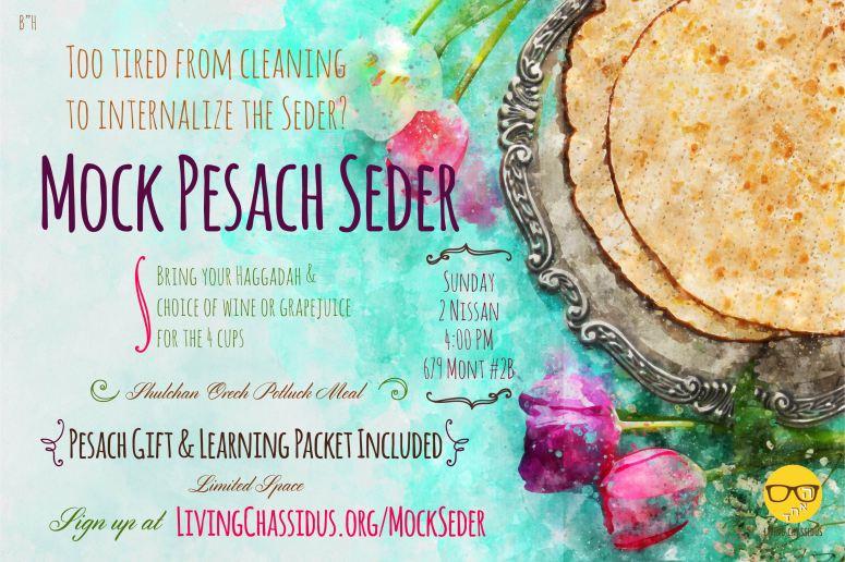 Mock Seder 5778-02-01